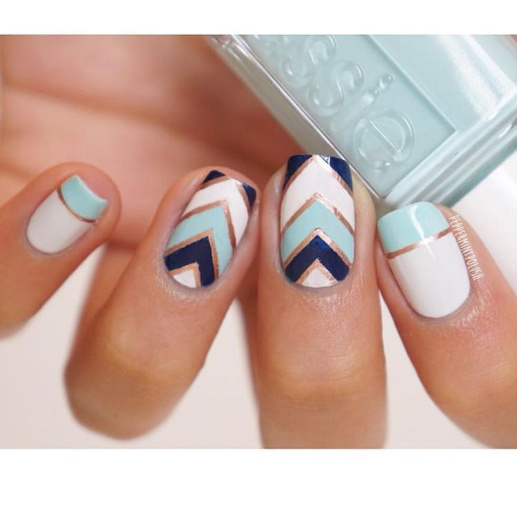 20 of the coolest and hottest nail designs daily spikes httpinstagrampbdcvi8wh2cz prinsesfo Images