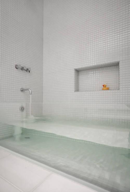A See-Through Bathtub