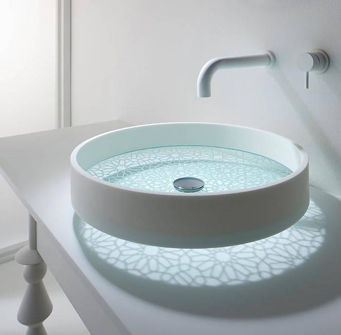 Patterned Sink