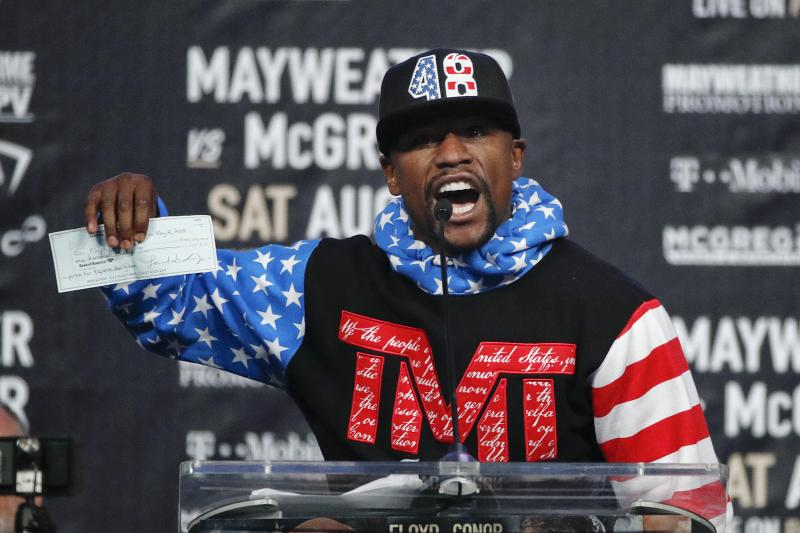 Floyd Mayweather: $8 Million Per Minute From Conor McGregor Fight